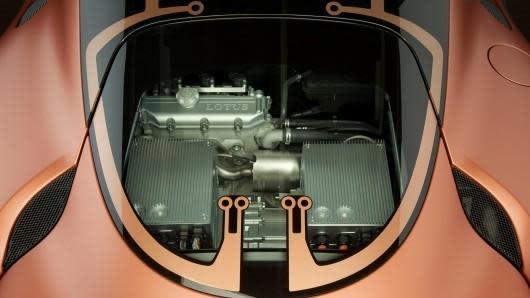 Lotus outs wild Evora 414E Hybrid plug-in concept car
