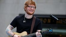 Ed Sheeran 'rushed to hospital' after being knocked from his bike