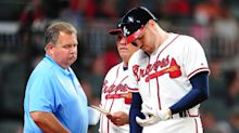 Braves star Freddie Freeman is out 10 weeks and a fight could be coming