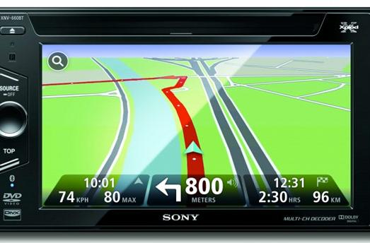 Sony brings TomTom to US-bound XNV-770BT and XNV-660BT in-dash head units