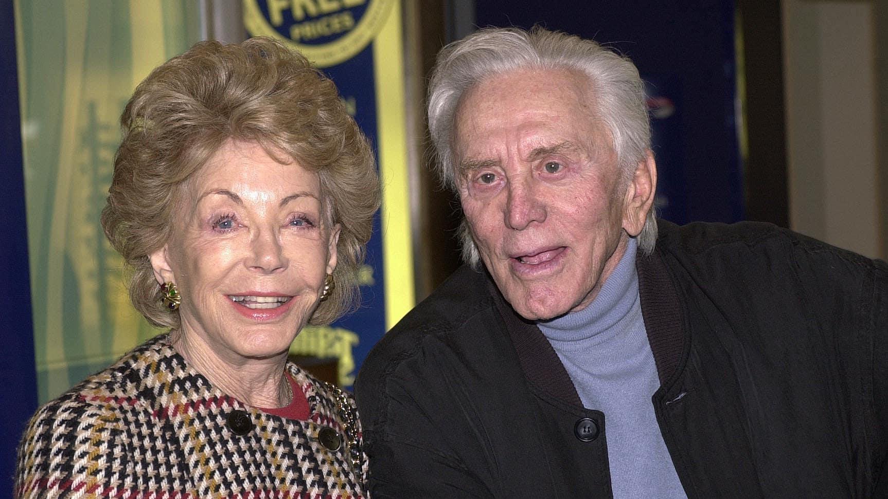 Anne Douglas, wife of Hollywood great Kirk, dies aged 102