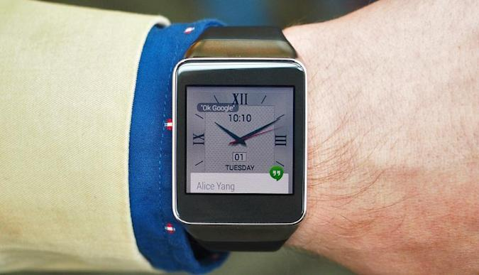 We just got to see (and touch) Samsung's new Gear Live smartwatch