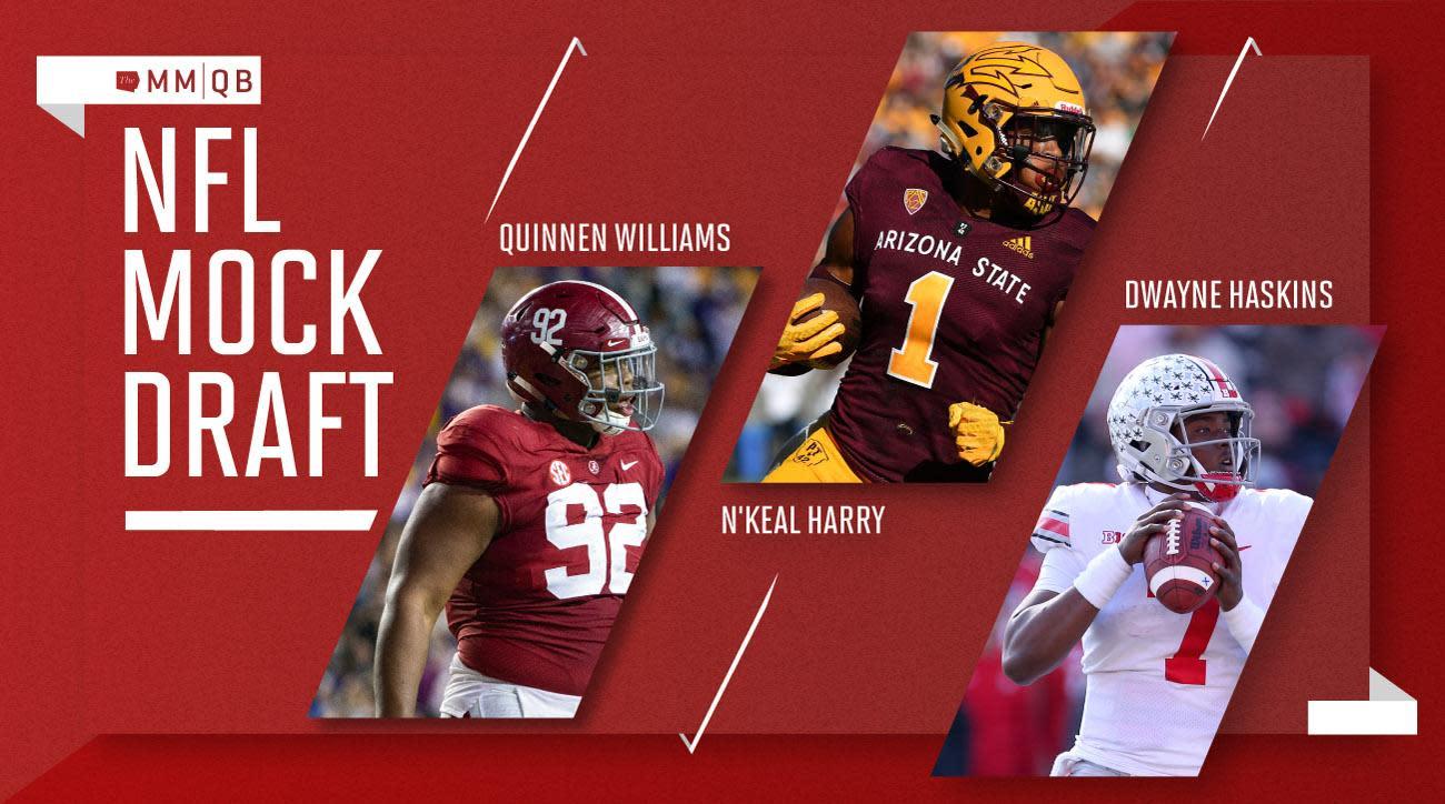 2019 NFL Mock Draft 2.0: Bosa to San Francisco, QBs to ...