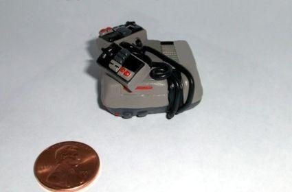 Mini NES is as cute as a button (same size, too)