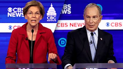 'This is personal': Warren goes after Bloomberg again