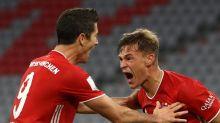 Im Liegen! Kimmich schießt Bayern zum nächsten Titel