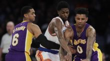 The Knicks agree — no one tried hard in Monday's loss to the Lakers