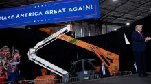 Company Fined for Indoor Trump Rally Cashes In On COVID-19