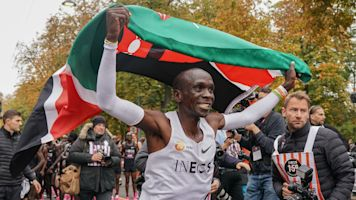 Kipchoge undecided over Olympic title defence after history-making run
