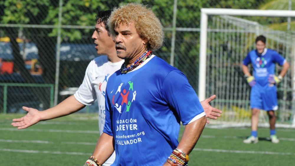 El Pibe Valderrama dijo presente en el entrenamiento de San Lorenzo