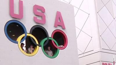 Olympians train at altitude ahead of games