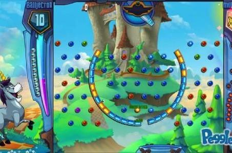 Peggle 2: Ball-bouncing, peg-clearing, unicorn-pooping goodness