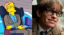 Stephen Hawking was no stranger to the screen, from The Theory of Everything to The Simpsons