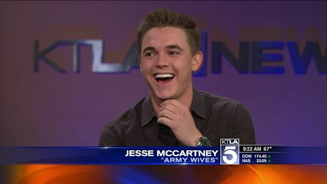 Jesse McCartney Talks Army Wives and New Tour