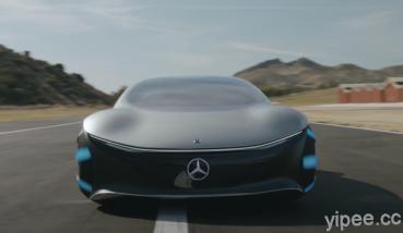 來自《阿凡達》的超現實電動概念車!Mercedes Benz 賓士 Vision AVTR 用手感應就能前進