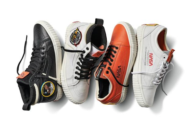 Vans' NASA collection is built for sneakerheads and space nerds