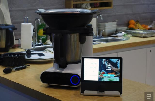 Julia is a smart kitchen gadget destined for the shopping channel