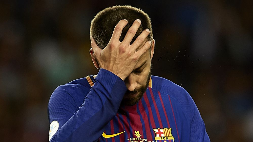 Nuevo lío de Piqué en twitter por Cataluña
