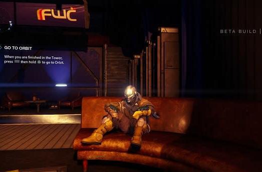 Take a break in Destiny's beta