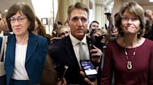 Collins, Murkowski and Flake condemn Trump's comments mocking Ford