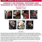 FBI Shares Photos Of Suspects Who Surrounded And Beat DC Officer During Capitol Riot