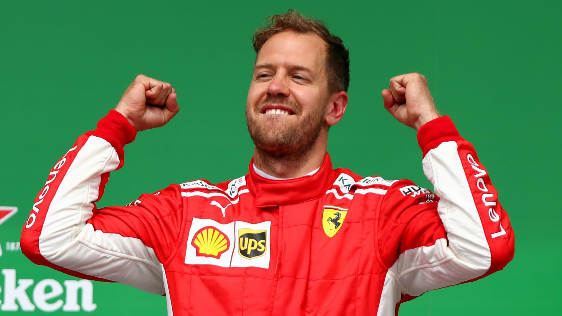 Sebastian Vettel Hungary #1