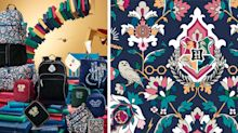 Vera Bradley Unveiled a 'Harry Potter'-Inspired Collection With a New Hogwarts Pattern