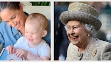 Queen Elizabeth Commented On Archie's Red Hair, Noting He Takes After Prince Harry