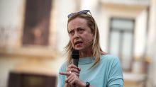 """Giorgia Meloni: """"No al proporzionale, elezioni subito"""""""