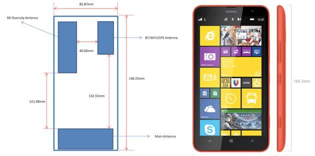 Nokia's outsized Lumia 1320 hits the FCC