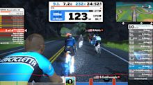 2 people got pro cycling contracts through a stationary bike app