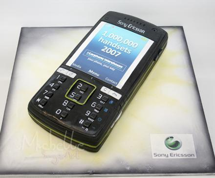 Keepin' it real fake, part XCVIV: the edible Sony Ericsson K850i edition