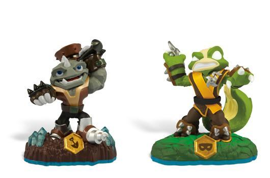 Final two Skylanders: Swap Force series 3 figures released