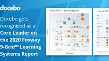 Docebo's Innovative Learning Platform Recognised as Core Leader by 2020 Fosway 9-Grid™ For Learning Systems
