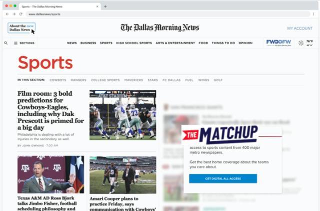 Google's latest local news effort is a dedicated sports hub