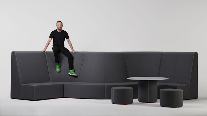 Airbnb's co-founder designed a line of furniture that snaps together like Lego