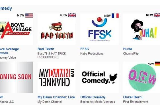 YouTube advances cash for 60 more original channels in Europe and the US