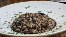Receitas de risoto: funghi, camarão, lula e radicchio