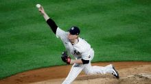 Nelson 3 hitless innings wins debut, Yanks' win 5th in row