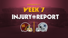 Injury Report: Logan Thomas, Ronald Darby DNP; Chase Young limited