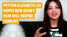Peyton Elizabeth Lee explains the real life inspiration behind Disney's latest protesting princess