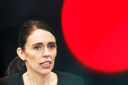 FILE PHOTO - New Zealand's Prime Minister Jacinda Ardern visits Christchurch