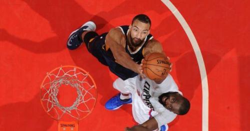 Basket - NBA - Succès des Clippers sur Utah malgré un très bon Gobert
