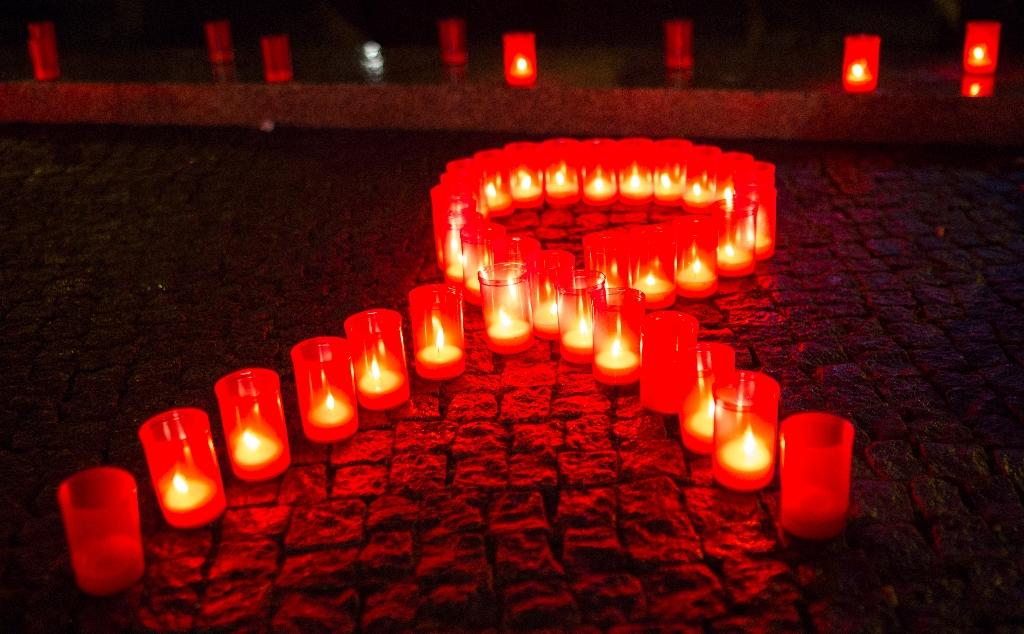 About 40,000 HIV infections are newly diagnosed each year in the US (AFP Photo/Florian Schuh)