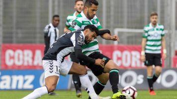El Sporting gana al Nacional y recorta distancias frente a Oporto y Benfica