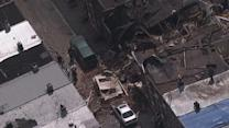 More Video: Chopper 6 over South Phila. collapse
