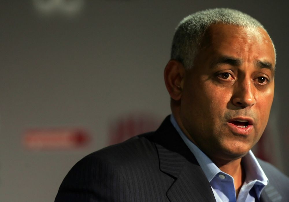 Former New York Mets general manager Omar Minaya is back with the team in a new role. (Getty Images)