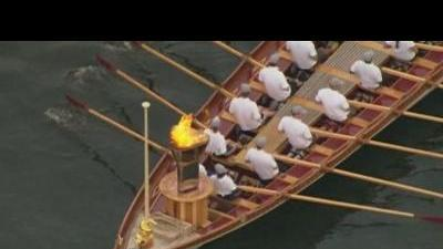 Last leg for Olympic torch