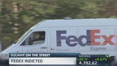 FedEx indicted by Feds: Report