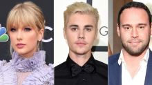 Justin Bieber 'Felt the Need to Defend' Scooter Braun in Taylor Swift Feud but 'Doesn't Want It to Escalate': Source